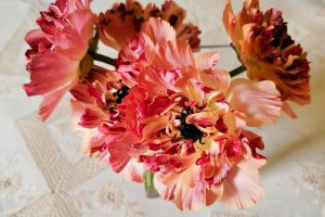 ご自宅にお花デリバリー